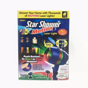 Harga Star Shower Motion Laser Lights