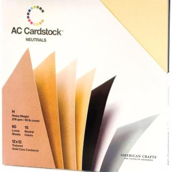 "American Craft Cardstock 12""x12"" - Neutrals Price Philippines"