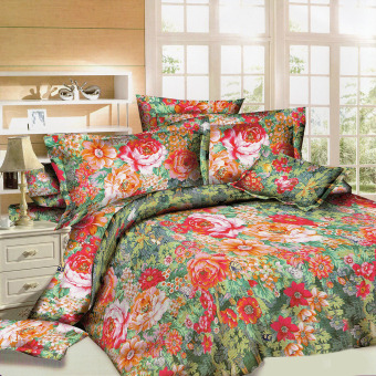 Harga Smile Premium Carolina 3 Piece Bedding Set