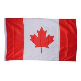 Large 90x150cm 5 X 3FT National Supporters Sports Olympics Flags With Grommet - Canadian flag - Intl Price Philippines