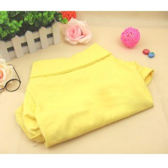 Harga Rondaful RD-DY167-Yellow-S Puppy Casual Suit Cotton Clothes XS/S/M/L ColorfulCute Pet cat Dog Dog Cat POLO T-Shirt- Intl