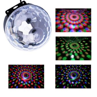 Dragon Lights EL335 LED Dream Crystal Magic Ball Disco Light Price Philippines