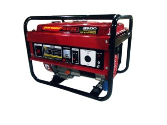 Harga Powergen 3500-3000w Portable Generator Red