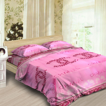 Smile Premium Fenix Bedding 3-piece Set (Pink) Price Philippines