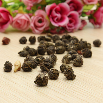 Natural Organic Jasmine Dragon Pearl Ball Chinese Green Flower Tea Loose Leaf Price Philippines