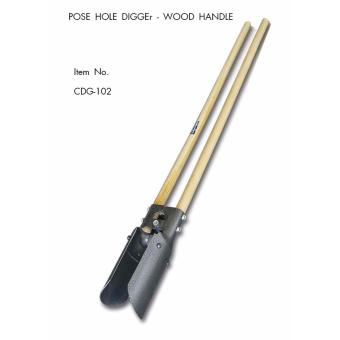 Harga Creston Post Hole Digger Wooden Handle