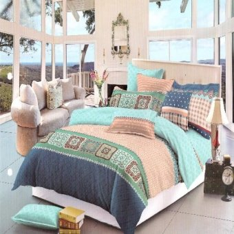 Harga Beverly's Linen Collection Bedsheet Set (Multicolor) - BBL_105
