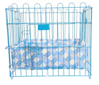 Harga Pet Depot Cushioned Border for Small Crates (Country Blue)