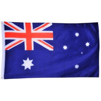 Large 90x150cm 5 X 3FT National Supporters Sports Olympics Flags With Grommet - Australian flag - Intl Price Philippines