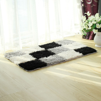 Living Room Bedroom Private Bathroom Mat Carpet (Grey-28-0.7) Price Philippines