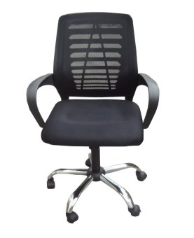 Hapihomes Aaron Mid Back Office Chair (Black) Price Philippines
