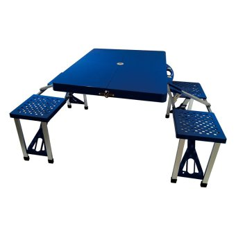 Portable Folding Table (Blue) Price Philippines