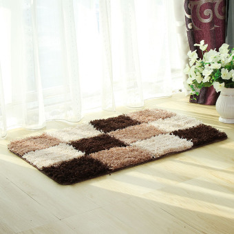 Living Room Bedroom Private Bathroom Mat Carpet (Coffee-28-0.7) Price Philippines