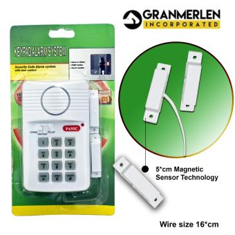 Harga New Perfect Panic Alarm Device With Security Keypad For Secure your Door