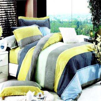 Harga Queen's Model 047 Classic Linen Collection Fitted Bedsheet Set