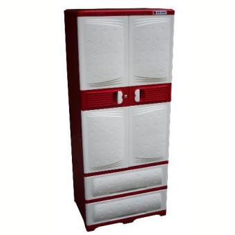 Harga Big BOx Hero Home Room Buddy Cabinet with 2 Drawers 2888 (Red)