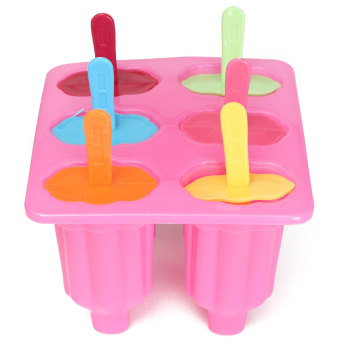 NEW 6 x ICE LOLLY LOLLIES ICE CREAM SUMMER DIY MAKER HUICE POPSICLE MOULD UK Price Philippines