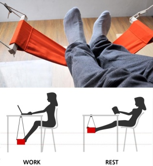 Harga Hammock for office siesta afternoon sleep nap with desk hanger hammock rest foot noon time snooze - intl