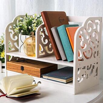 Harga Multifunctional Book Shelf Organizer