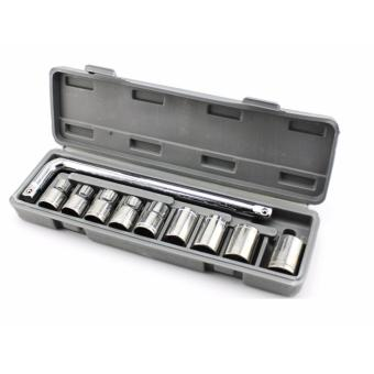 Harga SHOP AND THRIFT 10pc Drive Metric Socket Wrench Set