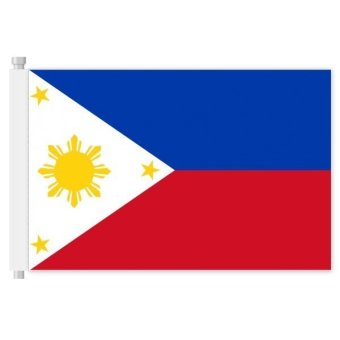 144*96cm Flag of Philippines national flag country flag banners indoor outdoor sports events show wedding staged flag pennants Multicolor (Intl) Price Philippines