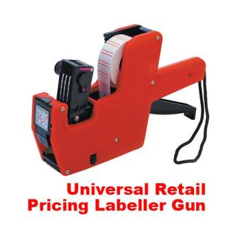 Harga Price Label Tag Marker Pricing Gun Labeller J - intl