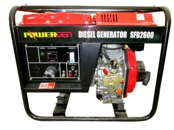 Harga Powergen SFD2600 Portable Generator Black/Red