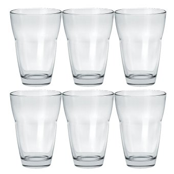 Italian Hi-Ball / Tumbler / Water Glass / Juice Glass / Soda Glass/ Cocktail Glass 330ml Set of 6 Glassware Price Philippines