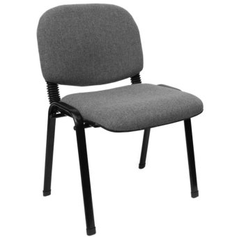 Harga Ergodynamic DVC-103GRY3 Stackable Guest Chair (Grey)