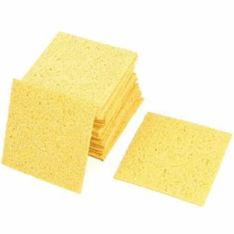 10Pcs Soldering Iron Solder Tip Welding Cleaning Sponge Remove Tin High Temperature Resistant Heatstable - intl Price Philippines