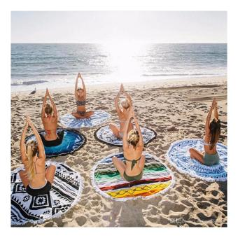 Harga Beach Towel Mat Yoga Mat (design may vary)