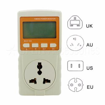 Digital Watt Meter / Power Meter / Power Reader with Overcurrent Protection and Back Light (220V Max 10A) Price Philippines