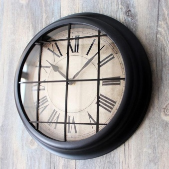 Wall Clock Industrial Style European Style Nostalgic Wall Clock American Retro Creative Creative Bar Decorative Clock - intl Price Philippines
