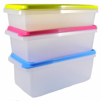 Harga Tupperware Stak N Stor Set in a Gift Box 3 pcs.