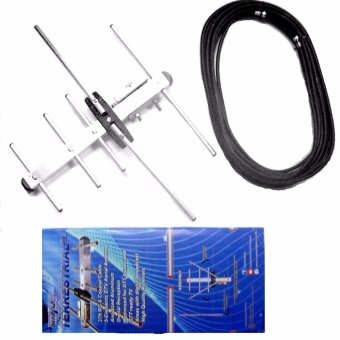 Harga Cybertec Crystal-clear Digital TV Antenna Outdoor Antenna for TV Plus or any ISDBT Digibox