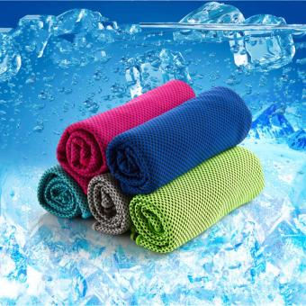 Harga (2 Pack) Cool Core Cold Feeling Cool 15 Degrees Ice Towel