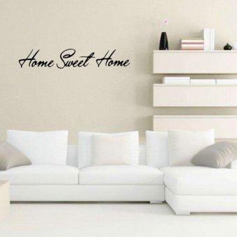 Removable PVC Sweet Home Vinyl Wall Sticker Art Home Room Decoration - intl Price Philippines