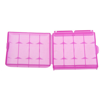 4X Plastic Case Holder Storage Box Cover for 10440 14500 AA AAA Price Philippines