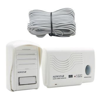 Harga Newstar Ding-Dong Door Chime Intercom (White) MPD-909
