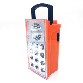 Leetec LT-312 Rechargeable Portable Lantern Emergency Light (Orange) Price Philippines