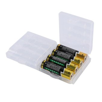 10 Pcs Multifunctional Transparent Hard Plastic Case Holder Storage Box For AA AAA Battery - intl Price Philippines