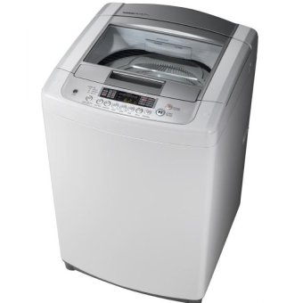 Harga LG WF-T906STG 9kg Top Load Washing Machine White