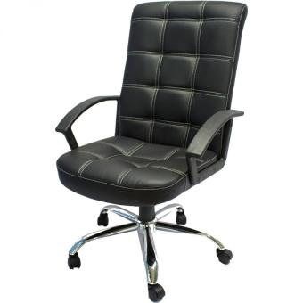 Harga Ergonomist High Back Faux Leather Office Chair with Arms
