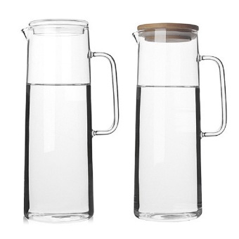 Fisca 1.5L Glass Water Carafe Water Jug with lids Price Philippines