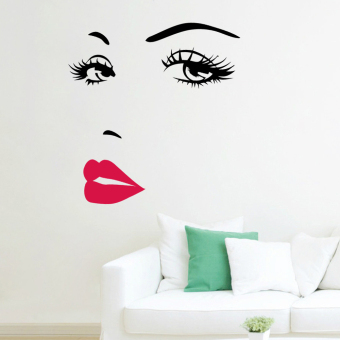 Quote Red Lips Vinyl Wall Sticker Home Decor Art Mural Sticker Adesivo Parede Wallpaper Home Decoration Price Philippines