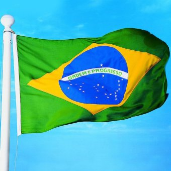 New large 3'x5' Brazilian Flag the Brazil National Flag BRA- - intl Price Philippines