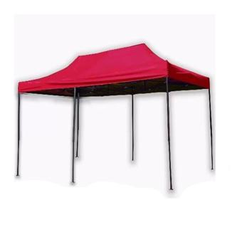 Harga 3 x 4.5 Rectractable Tent (Red)
