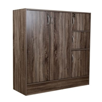 Tailee #1106 Multifunctional Cabinet (Dark Sonoma Oak) Price Philippines