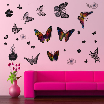 Wallmark Beautiful Butterflies Fashion Wall Sticker Price Philippines