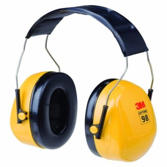 3M H9A Peltor Optime 98 Earmuff (Yellow) Price Philippines